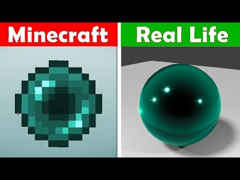 MINECRAFT ENDER PEARL IN REAL LIFE! Minecraft vs Real Life animation CHALLENGE