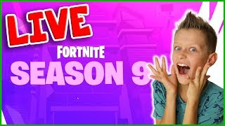 FORTNITE SEASON 9 UPDATE!!!