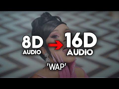 Cardi B – WAP [16D AUDIO   NOT 8D]🎧 FT. Megan Thee Stallion