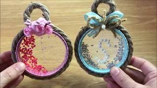 فكرة لصنع هدية عليها أحرف تصلح للمولود أو لأي شخص في مناسبة بأدوات بسيطة غير مكلفة