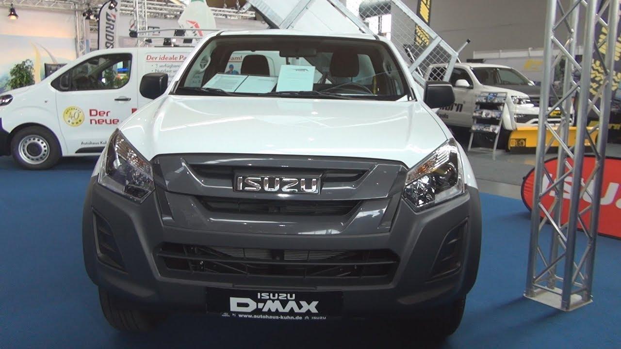 isuzu d max 1 9 single cab 4x4 basis 162 hp 2018 exterior and
