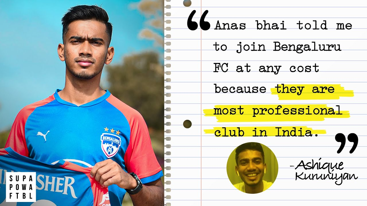 Ashique ALWAYS wanted to play for Bengaluru FC! 💙