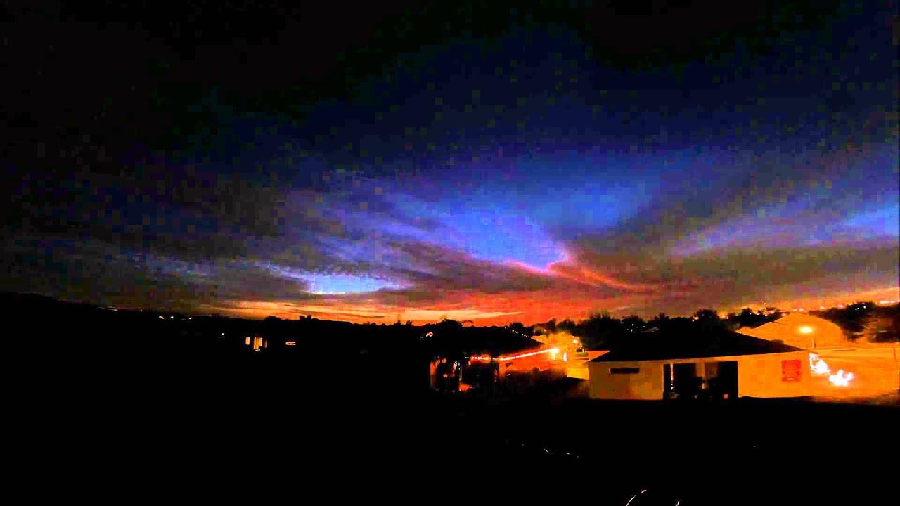 Time Lapse Sunset GoPro3+ 1 frame/60 sec - YouTube