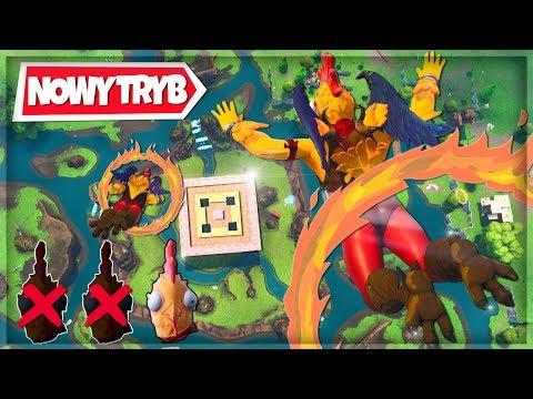 """NOWY TRYB """"🐔🔥🍗 KURCZĘ PIECZONE"""" TRYB PLAC ZABAW - Fortnite Battle Royale"""