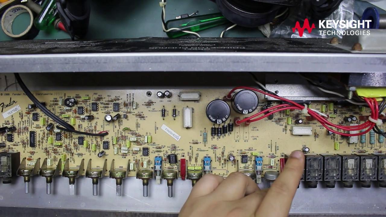 Fender Princeton Reverb Chorus - Manutenção on