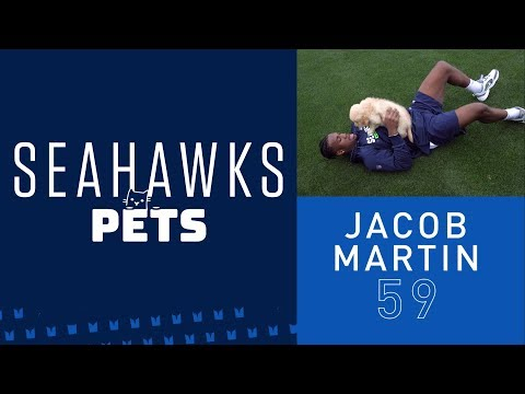 Seahawks Pets: Jacob Martin's Golden Retriever