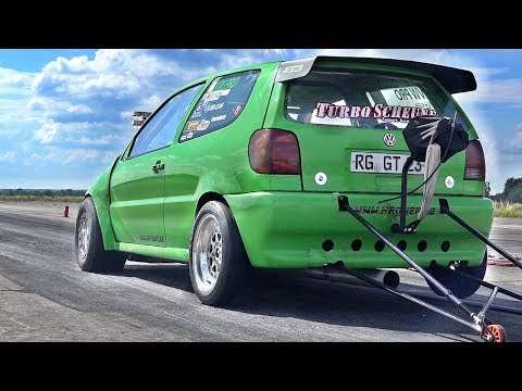VW Polo VR6 Turbo 1000 HP Tuning Sound