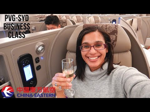 China Eastern Business Class | Shanghai To Sydney