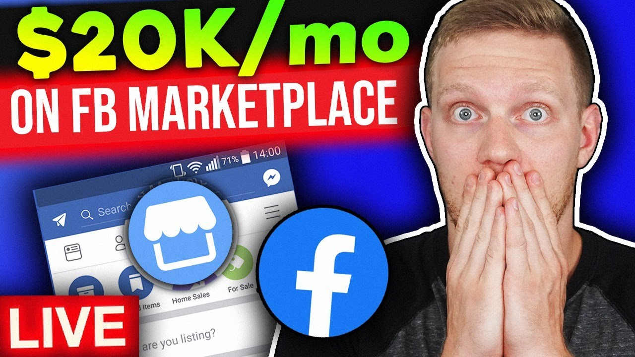 Selling 20 000 A Month Dropshipping On Facebook Marketplace Facebook Dropshipping In 2020 Youtube