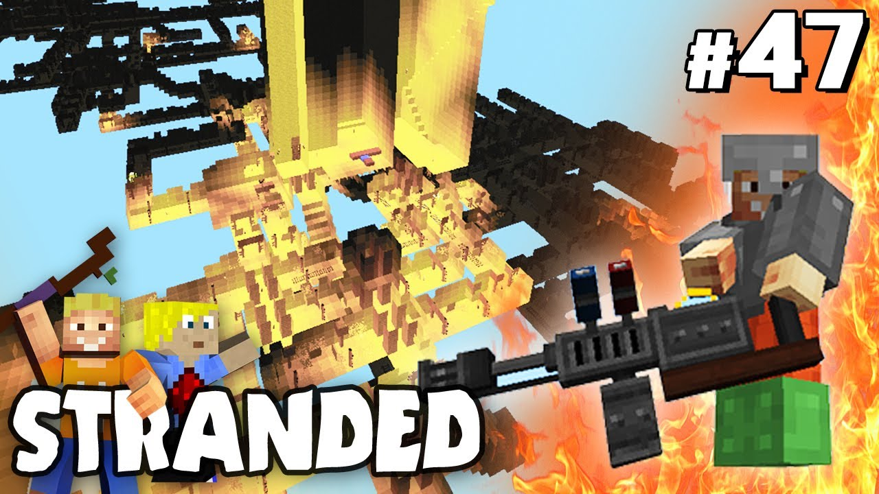 Lpmitkev server ip  FLAMMENWERFER & GEHEIMES DUNGEON | Minecraft STRANDED #47 ...