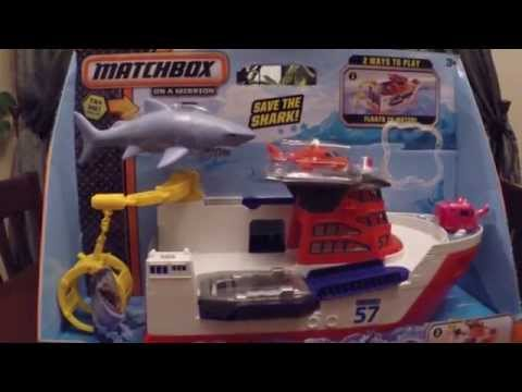 Tyson Toy Review Matchbox Mission Marine Rescue Ship
