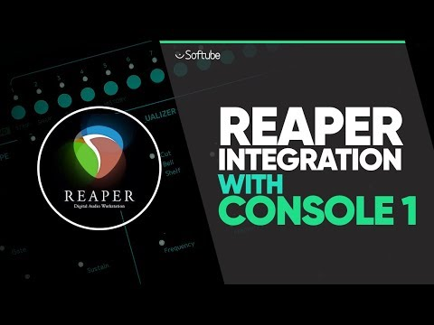 REAPER Integration With Console 1