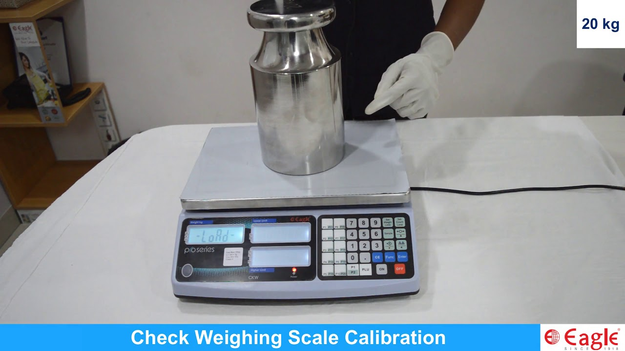 Check Weighing Scale Calibration - YouTube