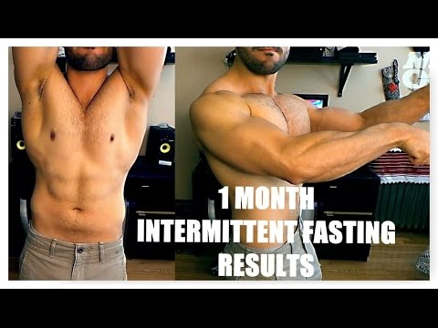 1 Month Intermittent Fasting Transformation ll Most Viewed ...