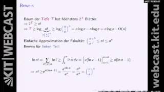 9: Algorithmen 1, Vorlesung, SS2015