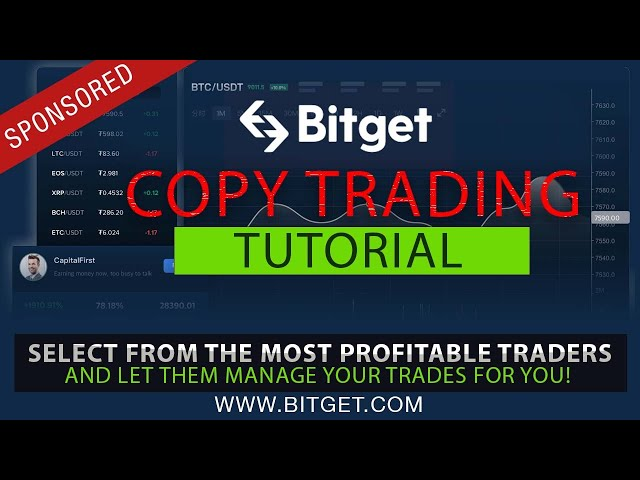 Let Other Top Traders Trade Your Account w/ Bitget's CopyTrade Program!