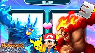 Pokemon Breeding Is The Best Way To Get Legendry Pokemons || Monster Legends Gameplay In Hindi #3 screenshot 5