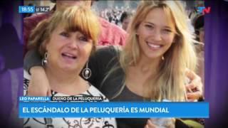 La factura de peluquería por $8500 de la mamá de Luisana Lopilato es mundial