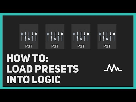 How to: Load stock plugin presets into Logic X