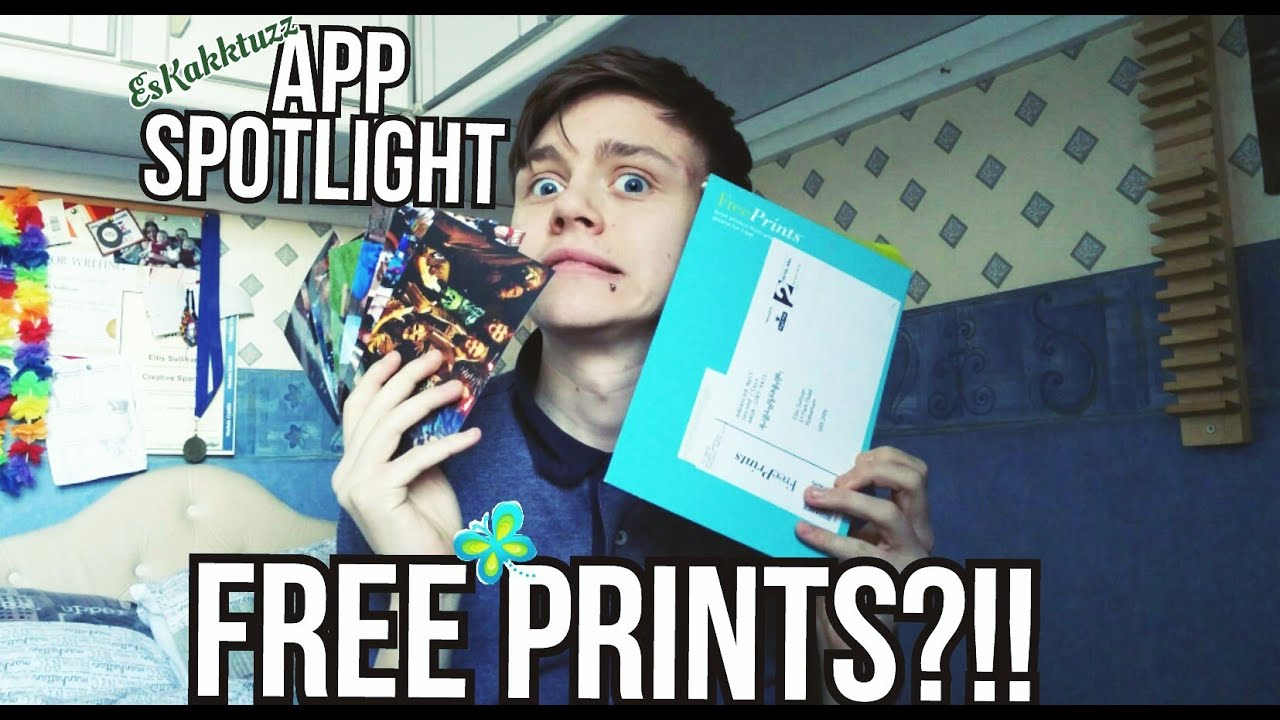 App Spotlight Free Prints YouTube