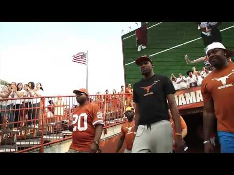 Kevin Durant on University of Texas' Campus