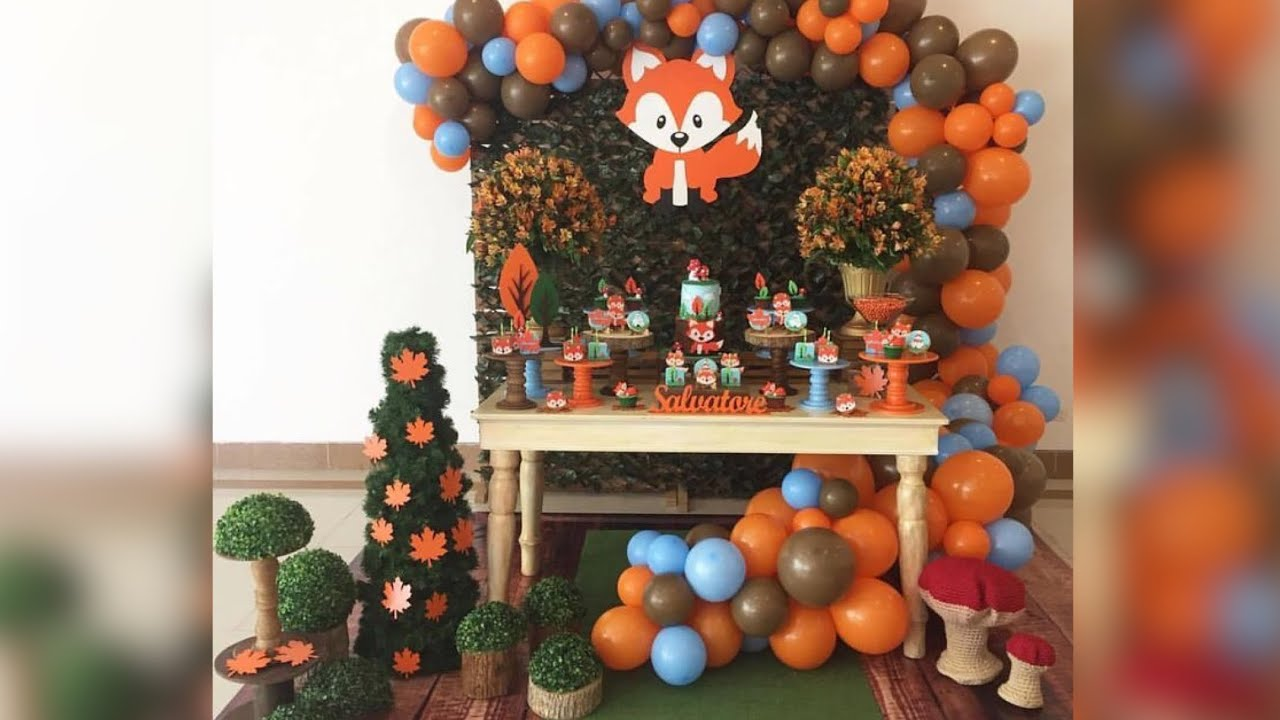 Fiesta O Baby Shower De Zorro 2019 Fox Birthday Party Cumpleanos