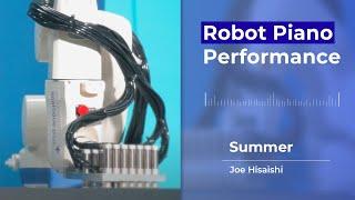 Robot Piano Performance :: Summer - Joe Hisaishi♬
