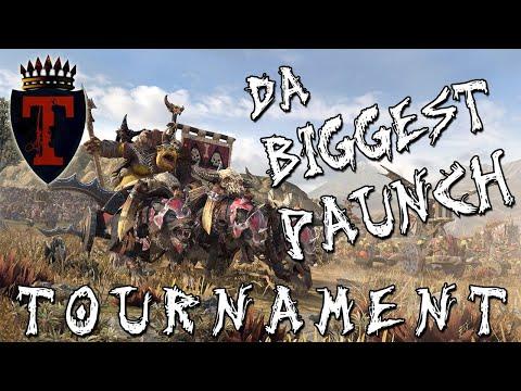 WHO HAS DA BIGGEST PAUNCH? | The Warden & The Paunch DLC - Total War: Warhammer 2 - Tournament