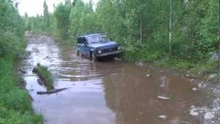 Дорожка на рыбалку(Дороги Мурманской области., 2012-08-01T20:50:19.000Z)