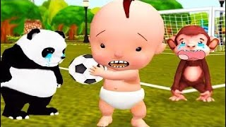 Fun Baby Care - Learn Colors Game Kids Back To School - Kids Toilet Bath Time Dress Up Gameplay