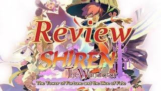 Shiren The Wanderer: The Tower of Fortune and the Dice of Fate - Vita Review [English]