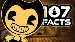 Download 107 Bendy And The Ink Machine FACTS (Feat: MatPat) You Should Know! | The Leaderboard Mp3 and Videos