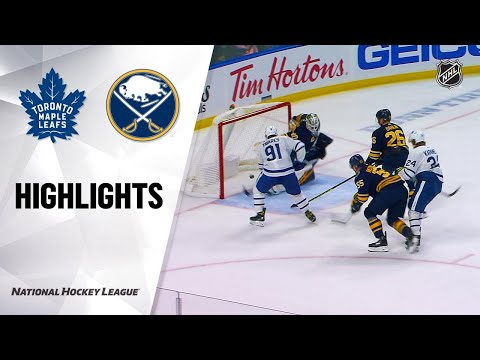 09/21/19 Condensed Game: Maple Leafs @ Sabres