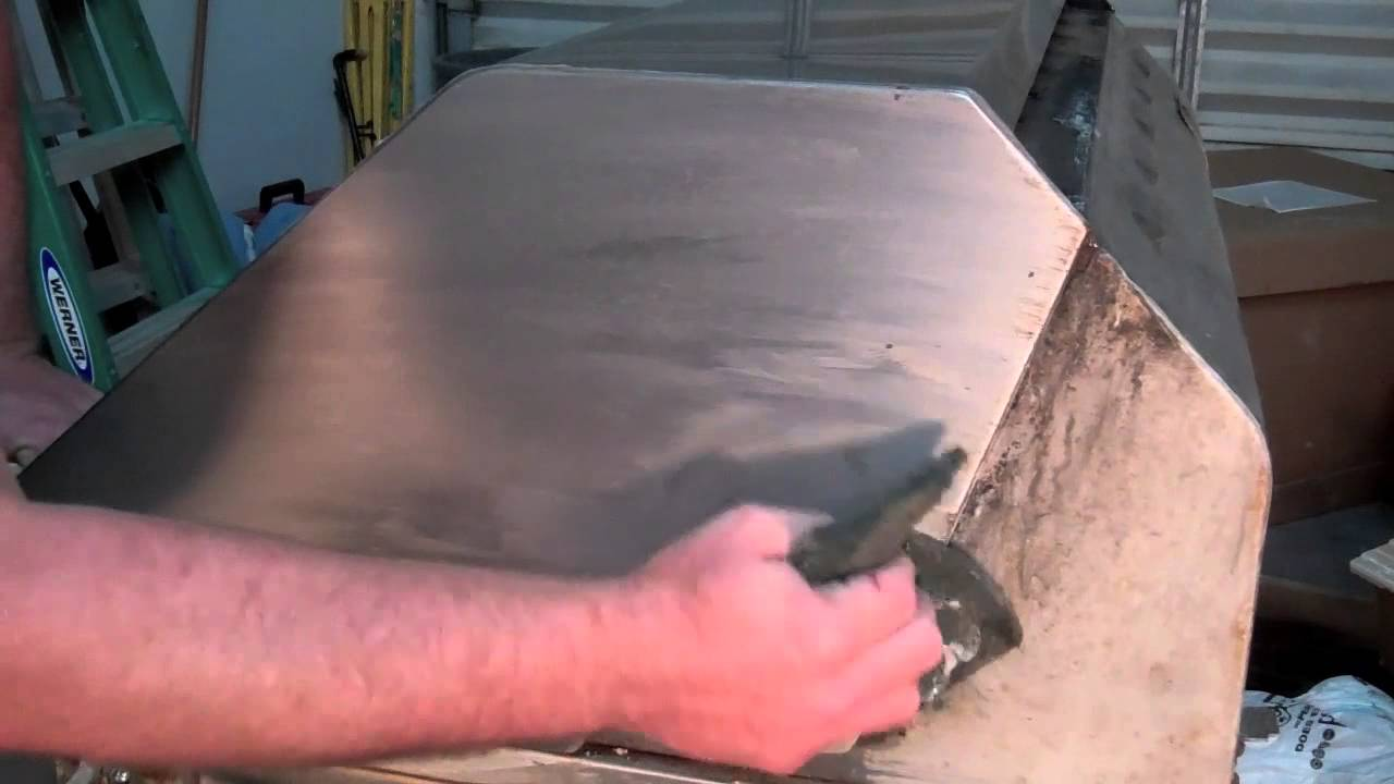 New BBQ Grill Stainless Cleaner Even Cleans Acid Stains And Burns.   YouTube