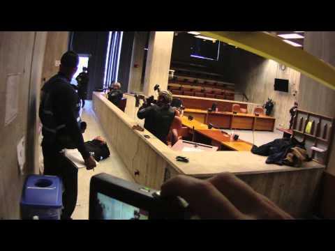 Operation Urban Shield Boston : City Hall Council Chambers