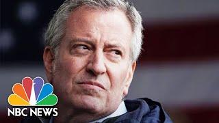 NYC Mayor Bill De Blasio Holds Coronavirus Briefing | NBC News (Live Stream Recording)