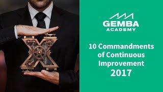 10 Commandments of Continuous Improvement (2017)