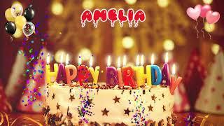 AMELIA birthday song – Happy Birthday Amelia