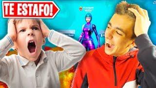 Hater Scam personnes et voler leur compte Fortnite Exclusive et faire cela ... Haha