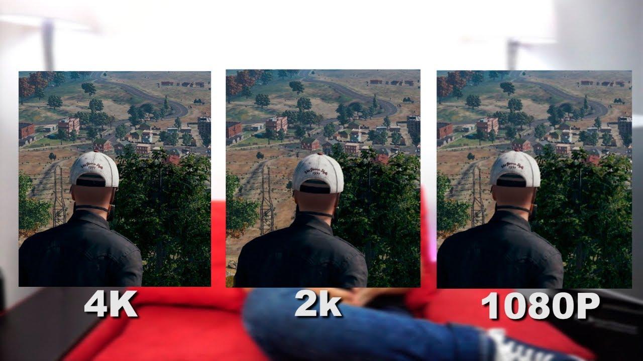 Vale la pena jugar en 4k? | Pruebas 4k vs 2k vs 1080p en juegos