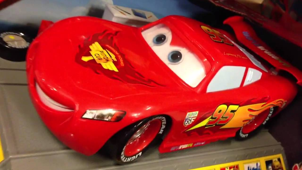 Cars 2 Lightning Mcqueen 2013 سيارة كارز مكوين تتكلم وتتحرك Youtube