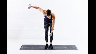 At Home ARM TONING Workout // With Weights