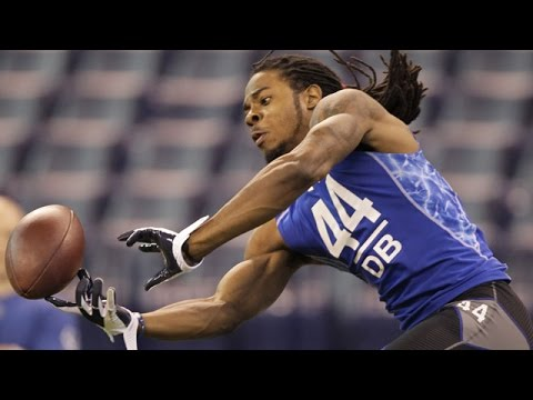 Richard Sherman (Stanford, DB) 2011 NFL Combine highlights