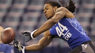 Richard Sherman 2011 NFL Scouting Combine highlights