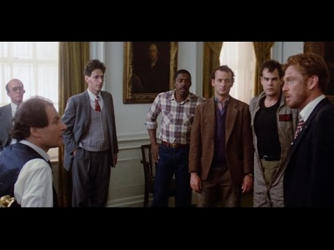 Ghostbusters - Yes, it's true, this man has no dick