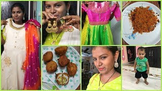 #DIML Birthday Shopping Vlog/#Shopping Haul/#Jewellery Haul/#Egg Bajji For Kids Snack Time/#Amulya