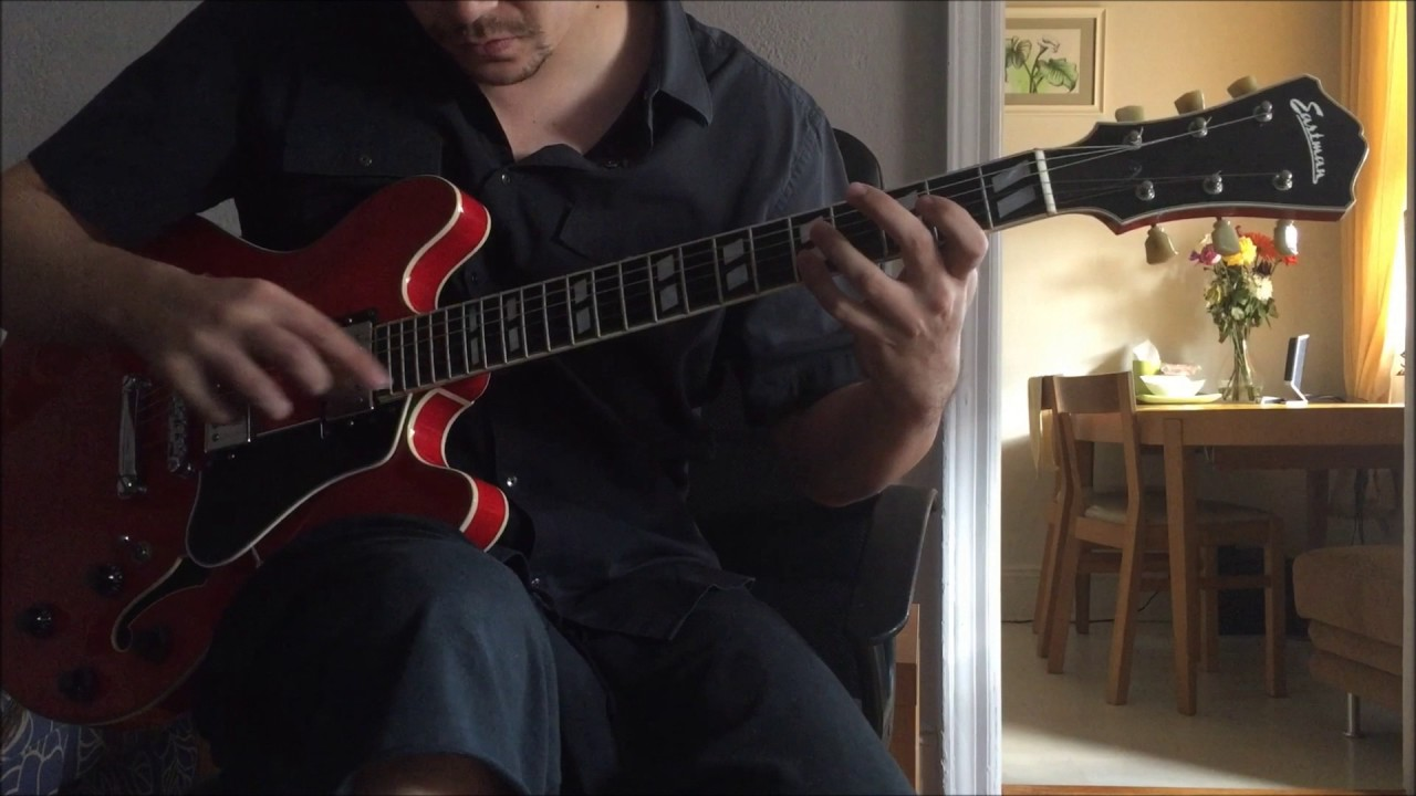 Capricho Árabe by Francisco Tárrega on Electric Guitar ...