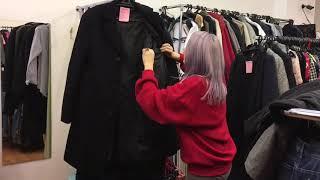 Секонд хенд: обзор поступления, мужская одежда, шерстяные пальто. 10.09.18