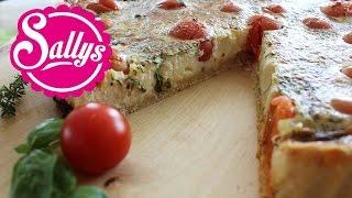 Tomaten-Quiche vegetarisch / einfach, schnell, lecker