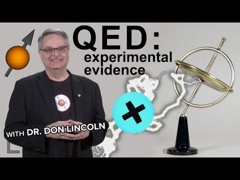 QED: experimental evidence